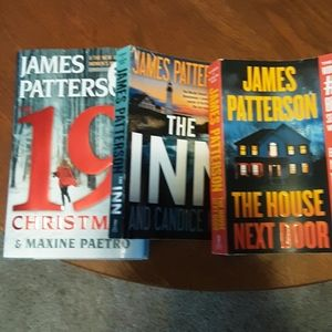 3 Best sellers from James Patterson